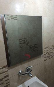 Инфрачервен панел за отопление с огледало 400 вата