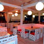 Инфрачервени лъчисти печки в зимна градина в пицария AMORE в Пловдив_1