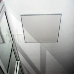 Инфрачервен панел за отопление с картина в спалня