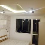 Инфрачервен панел за отопление 700 вата на таван в детска стая
