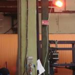 Инфрачервена печка в хале-2