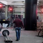 Инфрачервени лъчисти печки в промишлеността