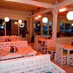 Инфрачервени печки в зимна градина в пицария AMORE в Пловдив