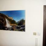 Инфрачервен панел за отопление с картина в антре_1