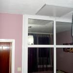 Инфрачервен панел за отопление с картина в спалня_1