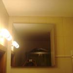 Инфрачервен панел за отопление с огледало монтиран в баня