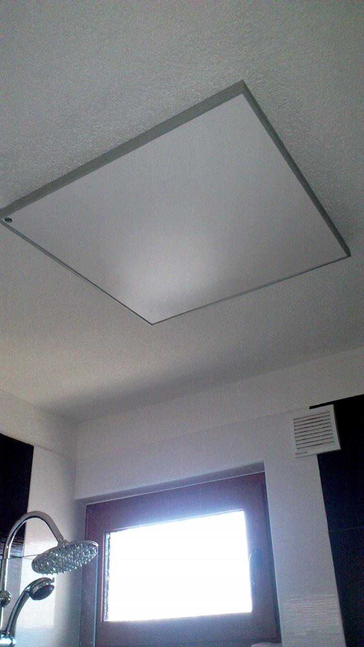 Инфрачервен панел 450W в баня_1