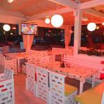 Лъчисти печки в зимна градина в пицария AMORE в Пловдив