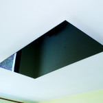 Черен стъклен инфрачервен панел