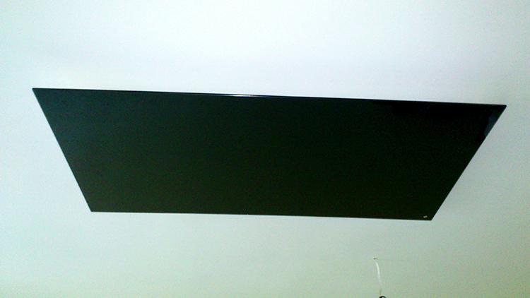 Черен стъклен инфрачервен панел_1