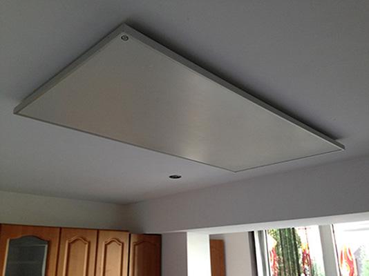 Монтаж на тавана в кухня
