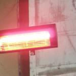 Зонално инфрачервено отопление в авто сервиз