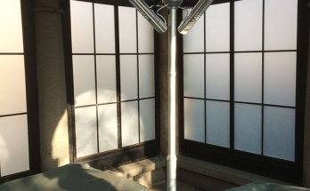 Кула с инфрачервени печки за зонално отопление и охлаждане BURDA PERFECTCLIME TOWER с две дюзи за вода