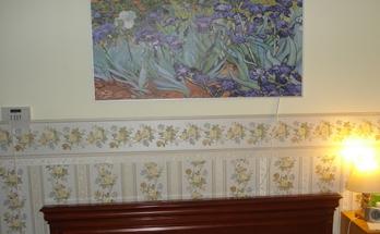 Инфрачервен картинен панел в спалня