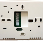 Дигитален програмируем термостат EBERLE E 200 - гръб