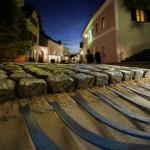 Cables for unfreezing pavement surface