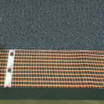 Mat for underfloor heating under carpet