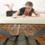 Рогозки за подово отопление под килим, линолеум и балатум
