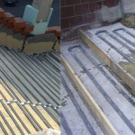 Разтапяне и размразяване снега и леда върху стълби