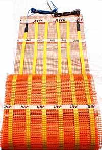 Рогозка за подово електрическо инфрачервено отопление