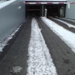Снего- и ледо- топене на входа/изхода на паркинги