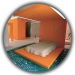 Спалня във водата