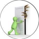 Затваряне на вратите на неизползвани помещения