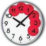 Часовник с гореща зона през лятото