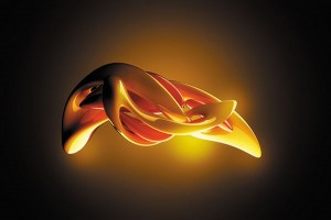 Картина за инфрачервен панел за отопление размер M 60х90 см Абстрактно преливане (М)
