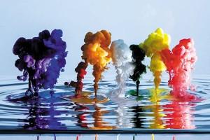 Картина за инфрачервен панел за отопление размер M 60х90 см Изкуството на цветовете (М)
