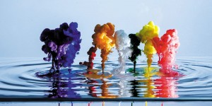 Картина за инфрачервен панел за отопление размер L 60х120 см Изкуството на цветовете (L)