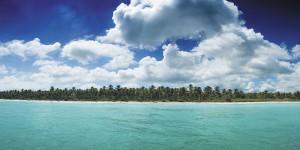 Картина за инфрачервен панел за отопление размер L 60х120 см На самотен остров (L)
