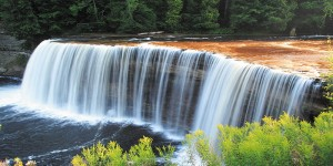 Картина за инфрачервен панел за отопление размер L 60х120 см Пада пада вода пада (L)
