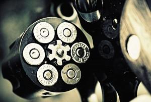 Картина за инфрачервен панел за отопление размер M 60х90 см Револвер (М)