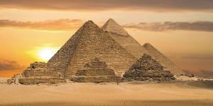 Картина за инфрачервен панел за отопление размер L 60х120 см Трите Пирамиди (L)