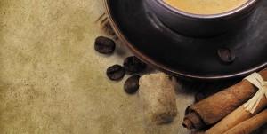 Картина за инфрачервен панел за отопление размер L 60х120 см Канелено кафе (L)