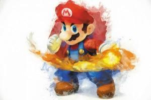 Картина за инфрачервен панел за отопление размер M 60х90 см Марио (M)