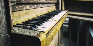 Картина за инфрачервен панел за отопление размер L 60х120 см Пианото (L)