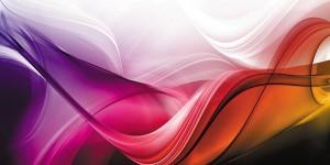 Картина за инфрачервен панел за отопление размер L 60х120 см Плаващи нюанси (L)