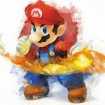 Картина за инфрачервен панел за отопление размер S 60х60 см Марио (S)