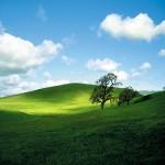 Картина за инфрачервен панел за отопление размер S 60х60 см Пейзаж под облаците (S)