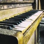 Картина за инфрачервен панел за отопление размер L 60х60 см Пианото (S)