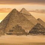 Картина за инфрачервен панел за отопление размер S 60х60 см Трите Пирамиди (S)