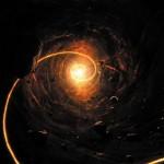 Картина за инфрачервен панел за отопление размер S 60х60 см Черна дупка (S)