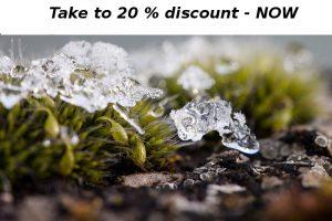 Discount - 20 % by Redsun