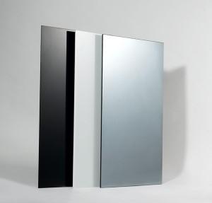 Стъклени инфрачервени панели за отопление черно и бяло стъкло и огледало