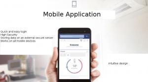 Smart thermostat via mobile