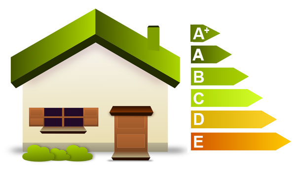 Energy efficiency icon/logo