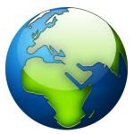 Планета Земя икона/лого