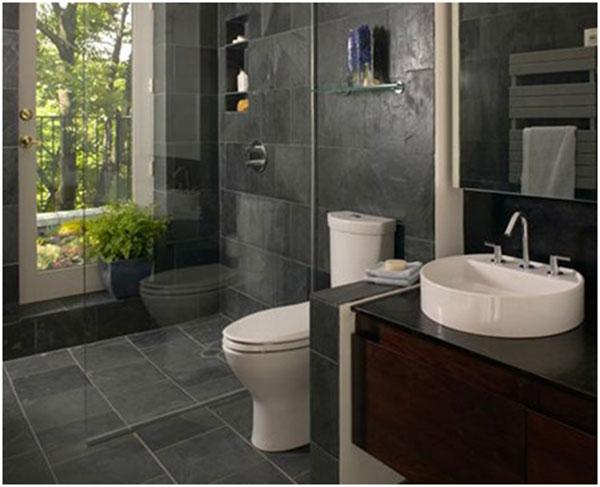 Electric or water underfloor heating for bathroom